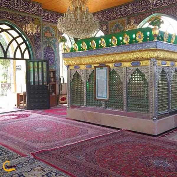 آستان متبرک امامزاده سه تن روستای ولات