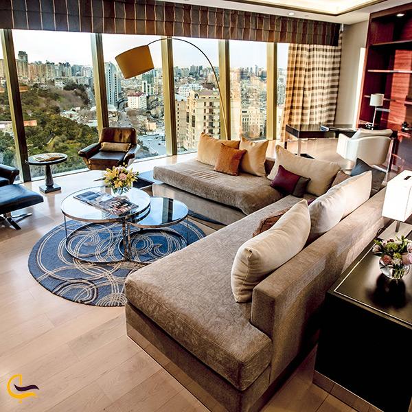 اتاق های هتل فیرمونت باکو