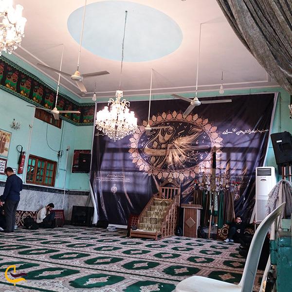 داخل برج سلطان زین العابدین