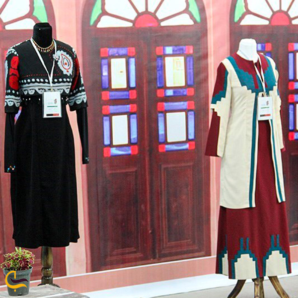 الهام از لباس محلی شهر کرمان