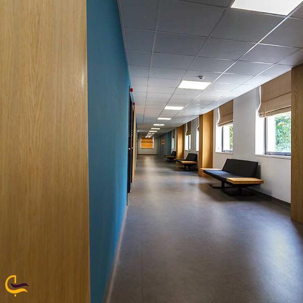 فضای داخلی مرکز پزشکی ماد السویلی کنستانتین در تفلیس