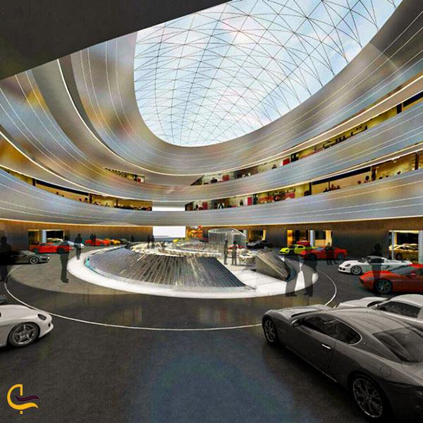 فضای داخلی نمایشگاه خودرو ایران مال