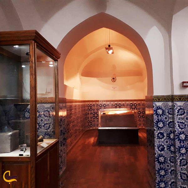 نمای داخل موزه مردم شناسی سمنان