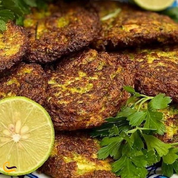 غذای محلی کرمانی مجور کدو