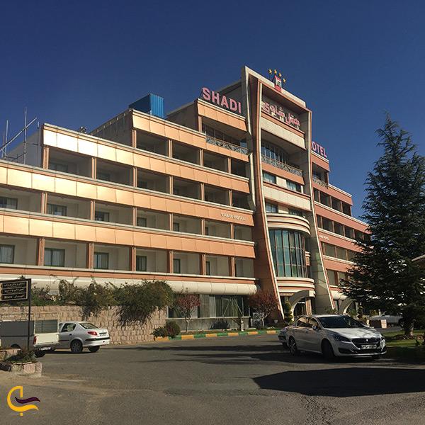 لیست هتل های سنندج و تصویر هتل شادی سنندج