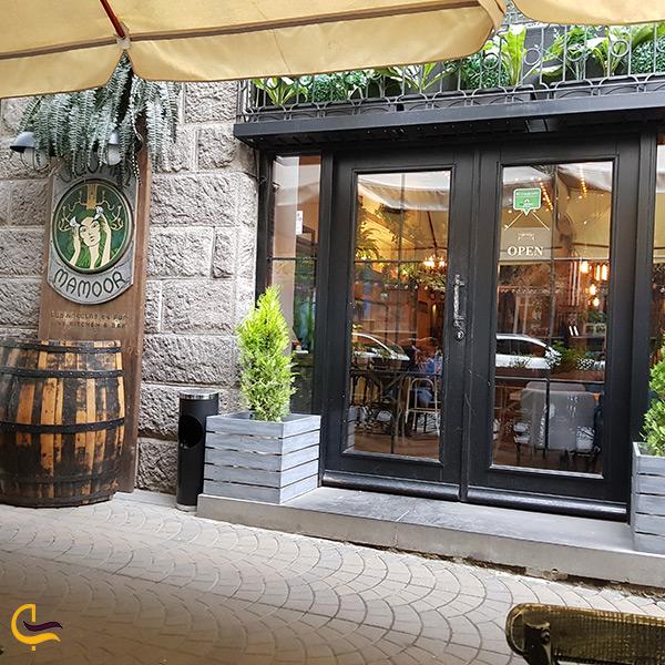 رستوران مامور در ارمنستان