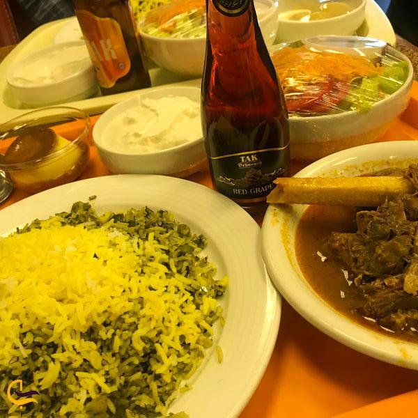 تصویری از غذاهای رستوران موبی دیک