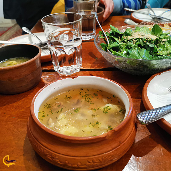 منو رستوران مرکیوق ارمنی