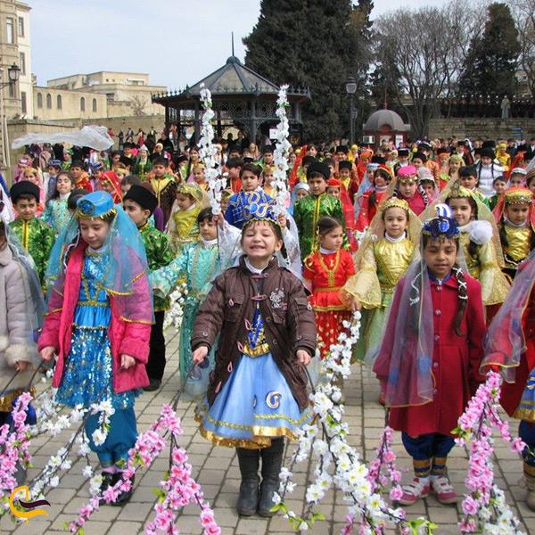 عید نوروز در باکو