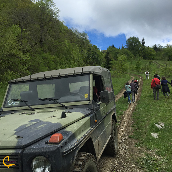 آفرود سواری در ارمنستان