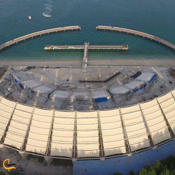 نمای کلی از سالن کنسرت مجموعه ی آوای خلیج فارس