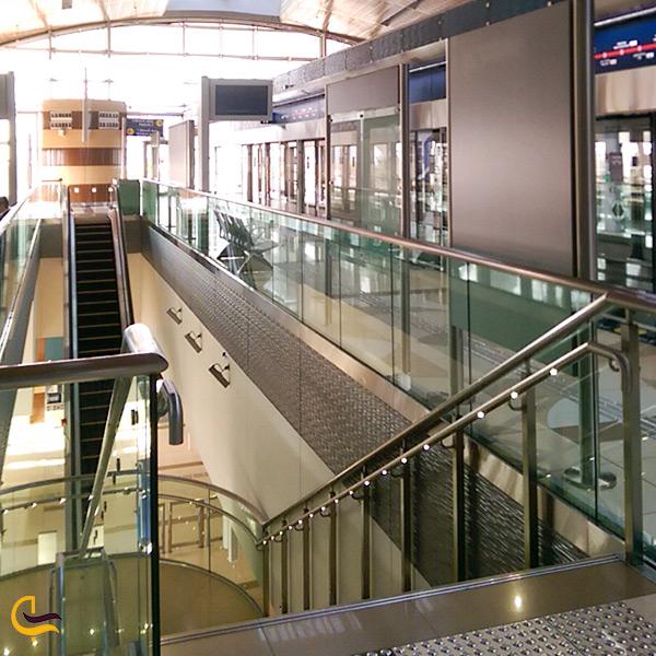 تصویر ایستگاه مترو النخیل دبی