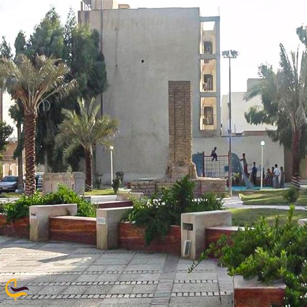 تصویر پارک قبر جنرال بوشهر