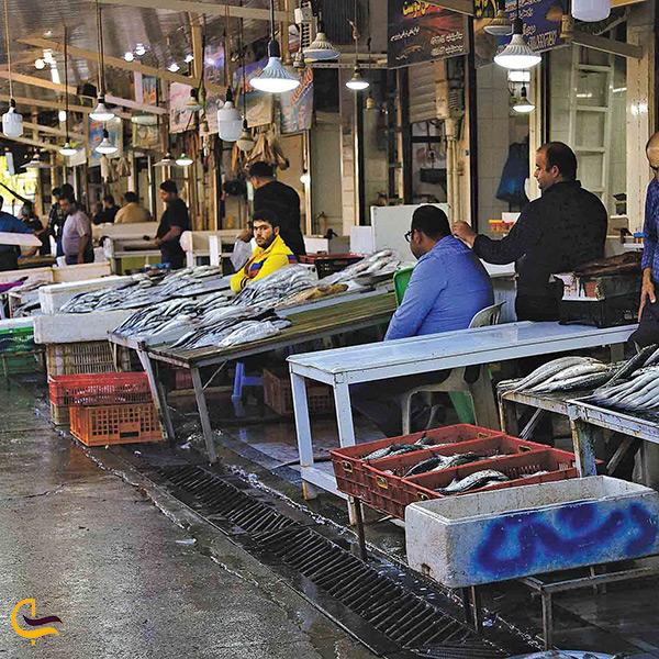 بازار ماهی فروشان رشت