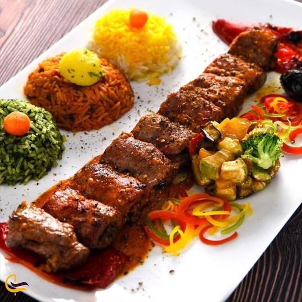 تصویری از غذای رستوران تهران بین