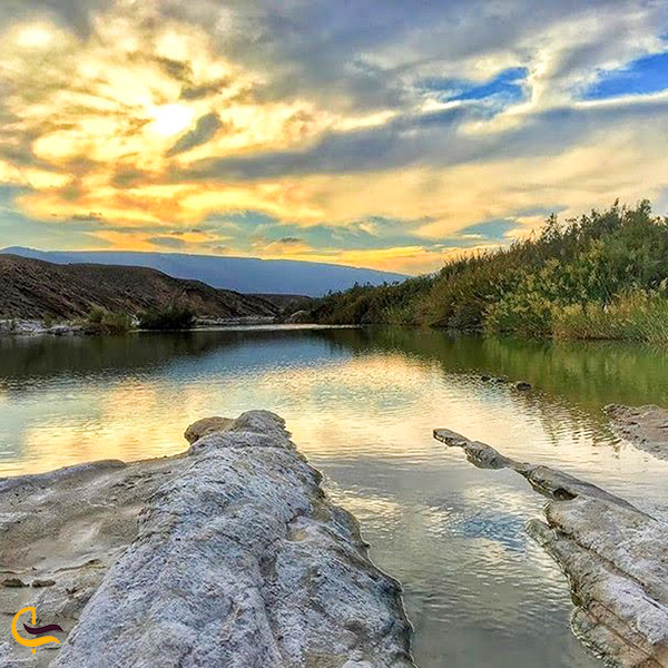 تصویری از رودخانه شور یزد
