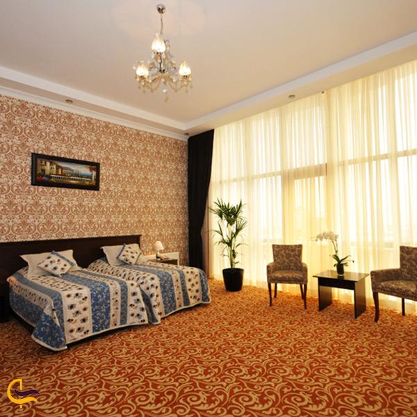 اتاق های هتل سنترال پارک باکو