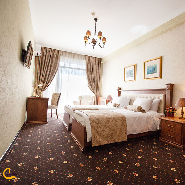 اتاق های هتل اوریون الدتون تفلیس