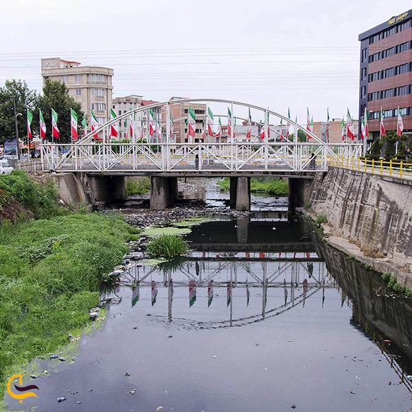 رودخانه سیاهرود قائمشهر