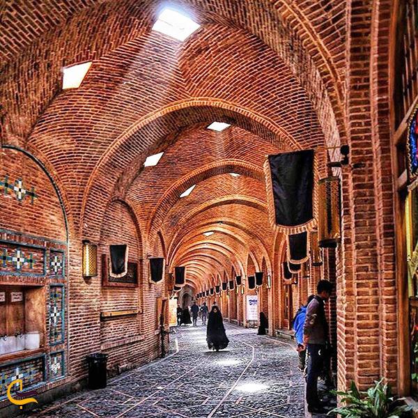 گشت و گذار در بازار قزوین