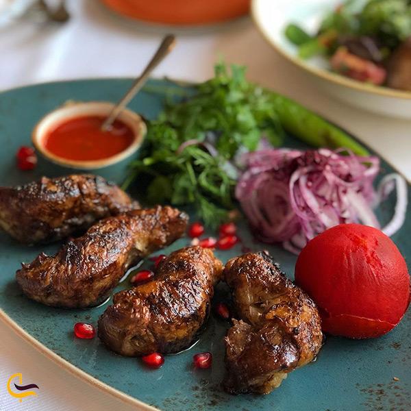 رستوران سماق در باکو آذربایجان