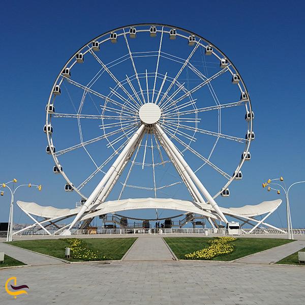 چرخ و فلک بزرگ باکو ملقب به چشم باکو