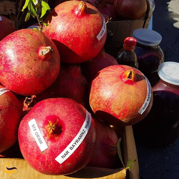 بهترین انار های دنیا در شهر گوچی آذربایجان