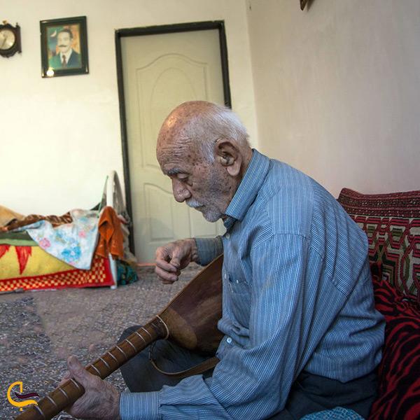 زبان مردم روستای زرگر قزوین