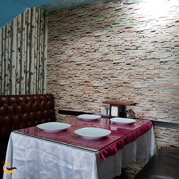 رستوران فیروزه در باکو آذربایجان کم قیمت ترین رستوران شهر باکو