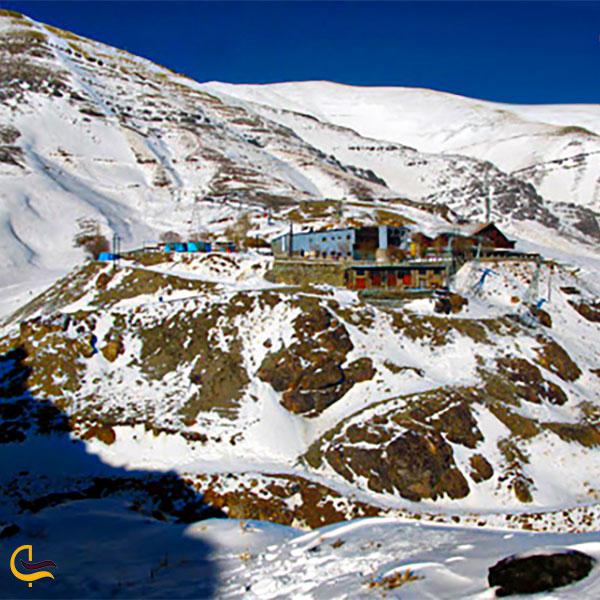 مسیر ولنجک به قله توچال
