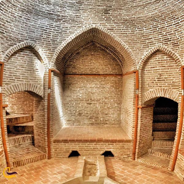 حمام وزیر در نزدیکی دشت ناز ساری