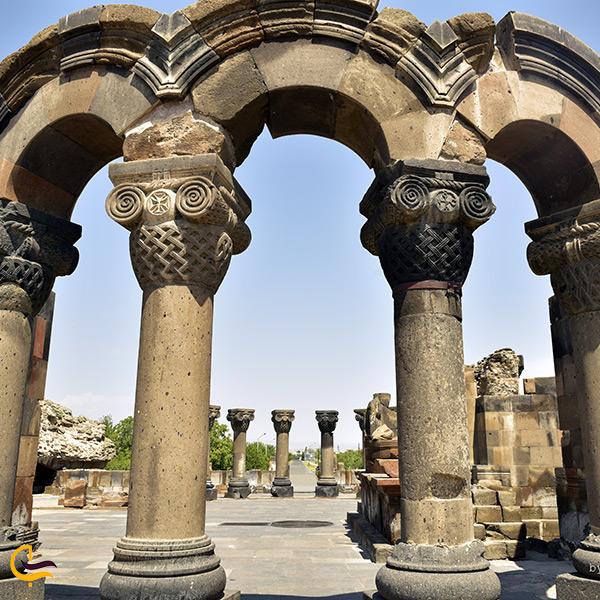 کلیسای جامع زوارنتوس ارمنستان