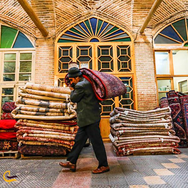 نمایی از بازار بزرگ تهران