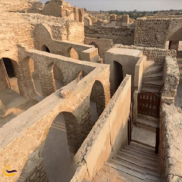 تصویری از خانه اعیانی کیش