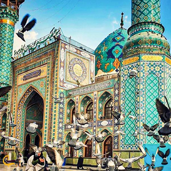تصویری از اما زاده صالح تهران