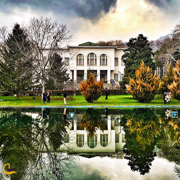 نمایی از کاخ سعدآباد تهران