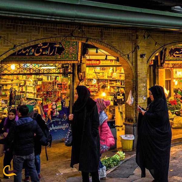 نمایی از بازار تجریش تهران