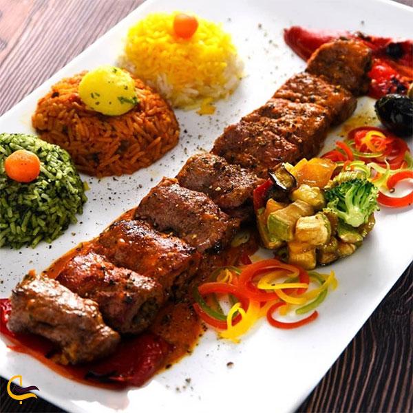 نوعی از غذای رستوران تهران بین