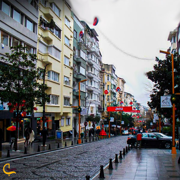 نمایی از خیابان عبدی ایپکچی
