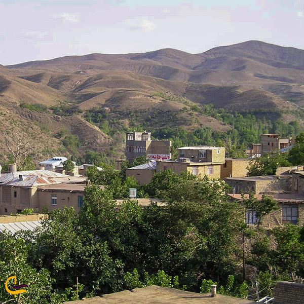 نمایی از روستای ابرده بالا