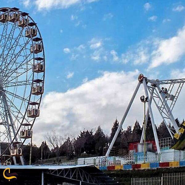 تصویری از کوهستان پارک شادی مشهد