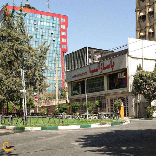 نمایی از مرکز خرید اسیا در خیابان جردن