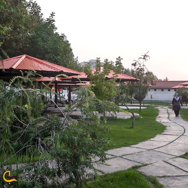 تصویری از پارک ساحلی بابل