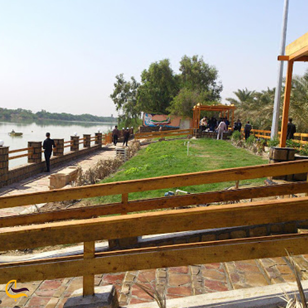 تصویری از پارک ساحلی خرمشهر