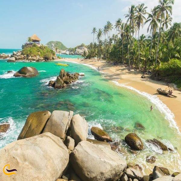 تصویری از طبیعت سرسبز ساحل پوکت
