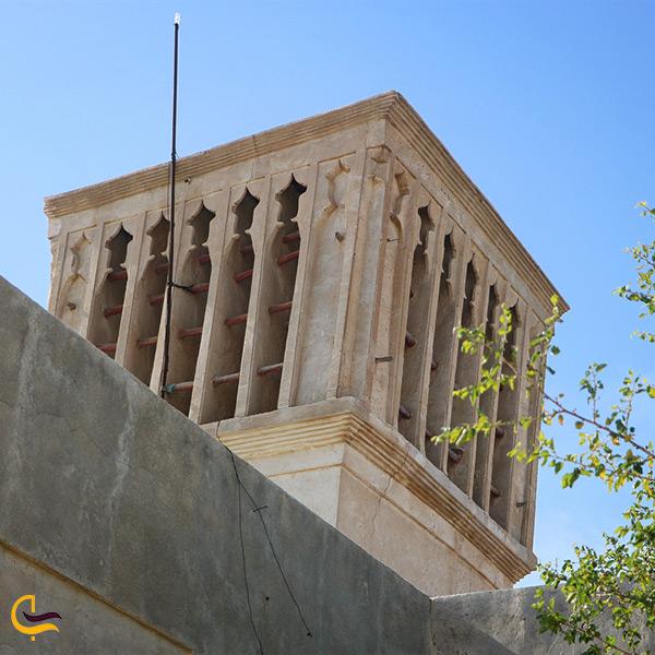 تصویر زیبا از طراحی و معماری مسجد جامع بردستان