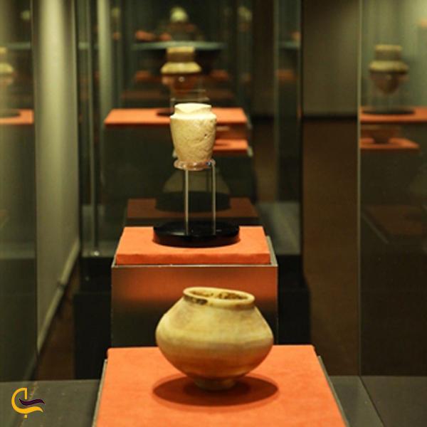تصویری از کوزه قدیمی در موزه بهبهان خرمشهر