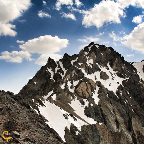 نمایی از کوه کش سیاه