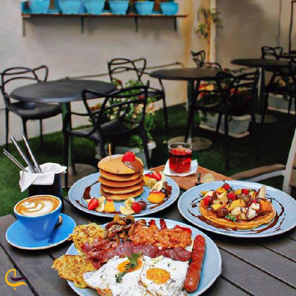 نمایی از صبحانه کافه رستوران گراف