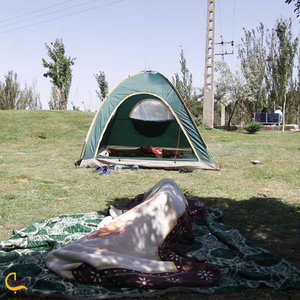 چادر زدن در پارک ائل گلی تبریز